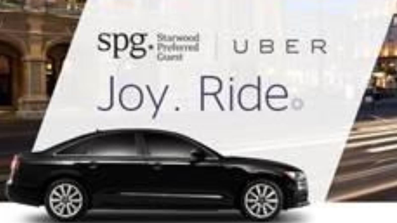 SPG Uber Partnership